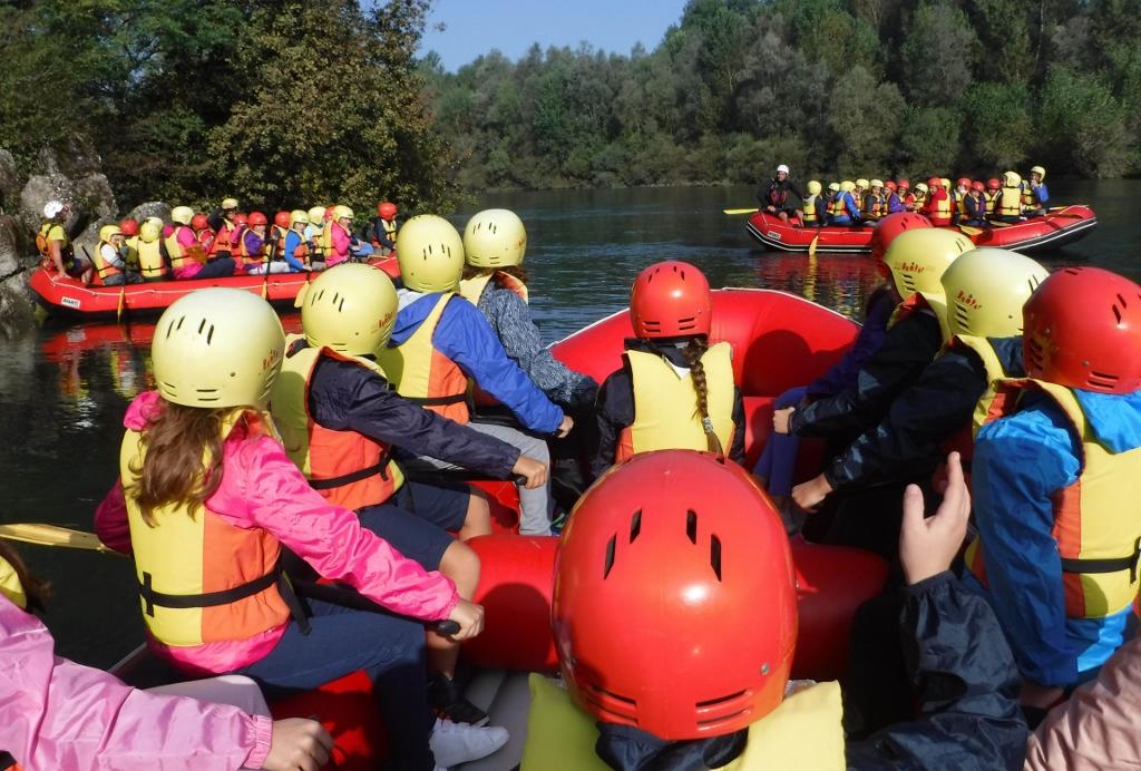Rafting sul ticino alla scoperta del fiume for Cabine sul bordo del fiume